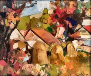 Obraz Štefan Roskoványi olej na plátne