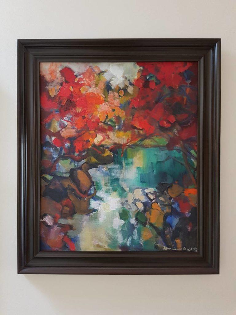 Štefan Roskoványi 50 x 60 cm , olej na plátne