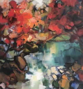 Štefan Roskoványi abstrakt na predaj