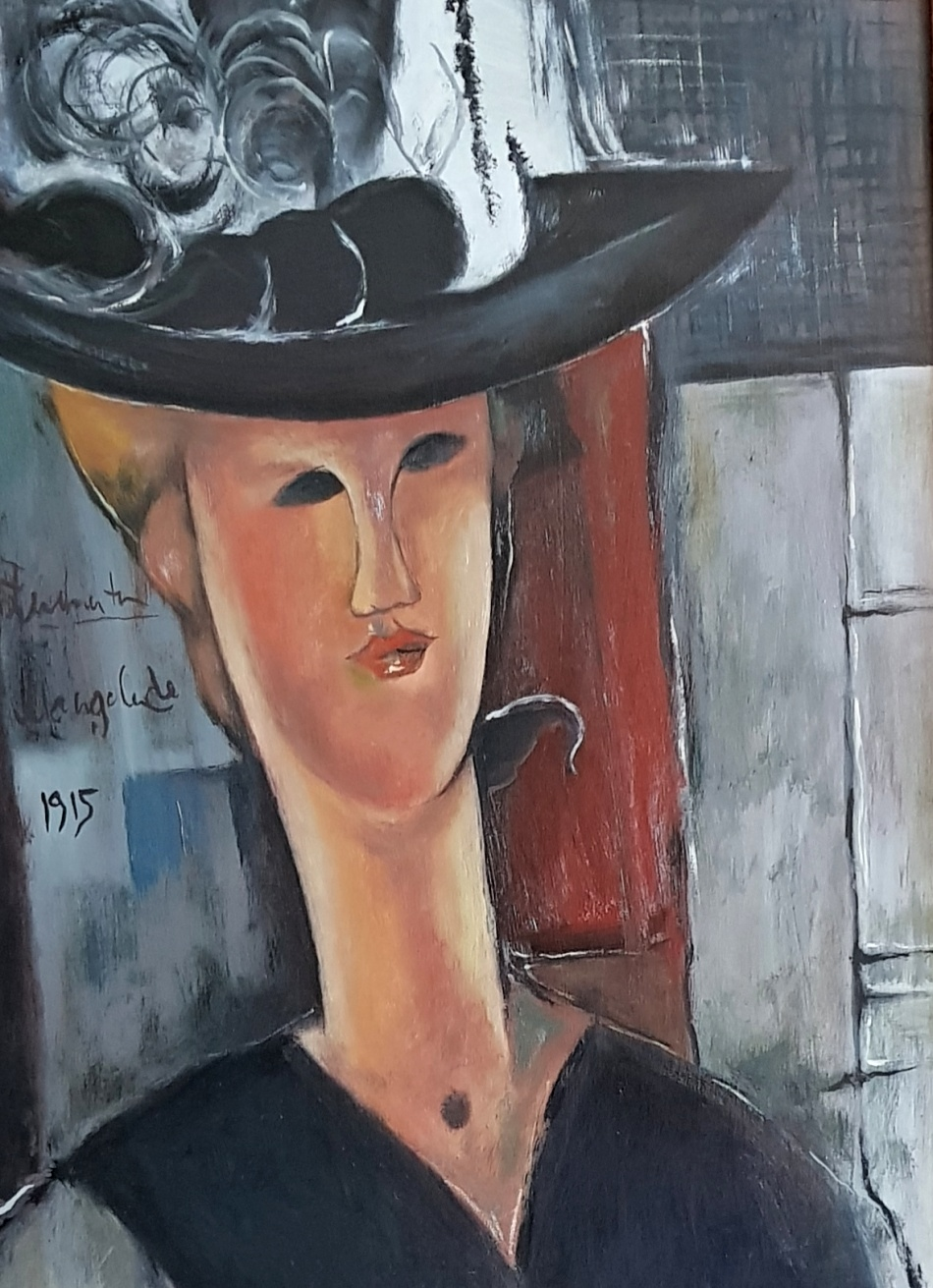 Róbert Jiran, podľa Modiglianiho