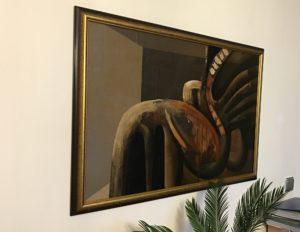 Krivoš rudolf abstrakt , sedemdesiate roky