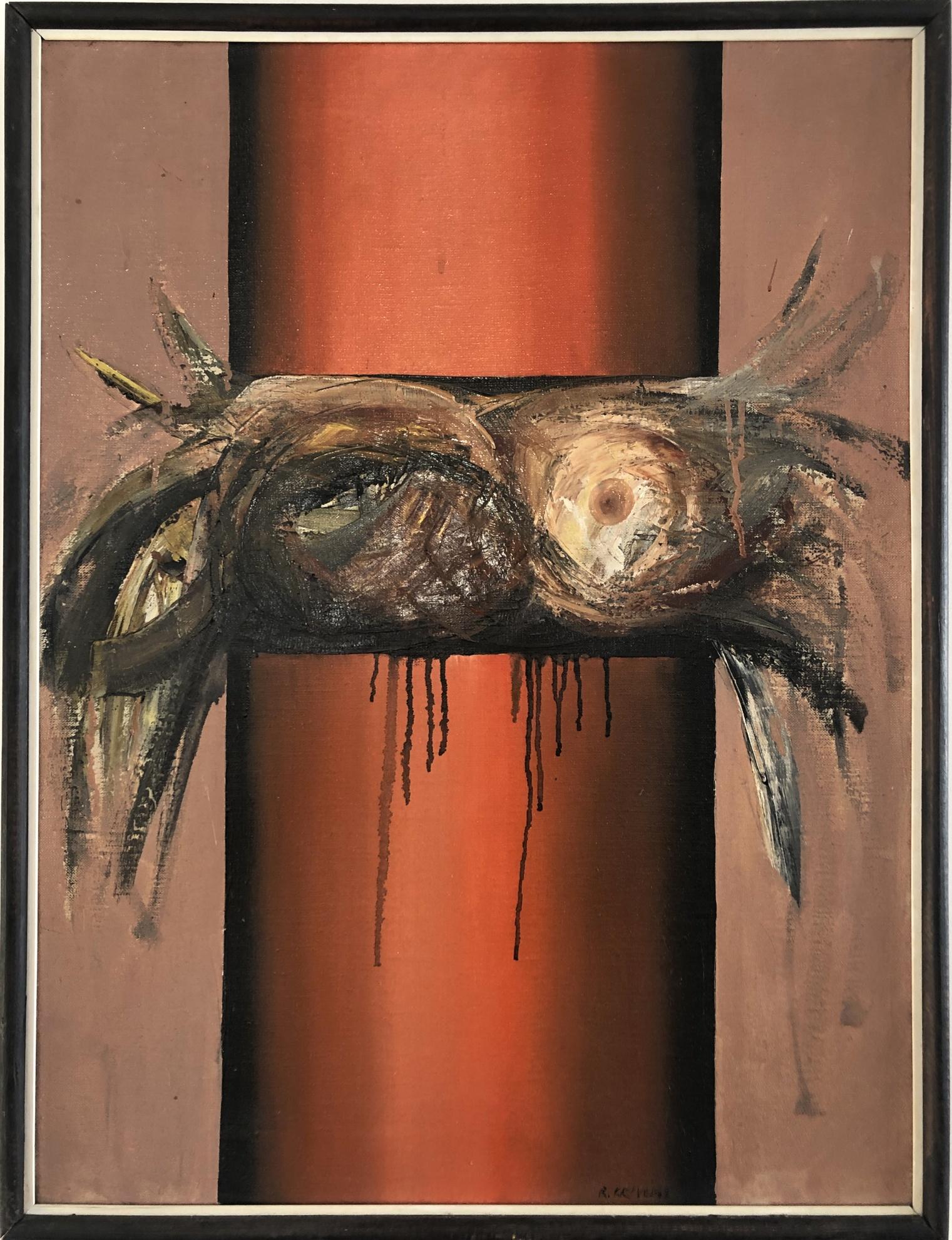 Rudolf Krivoš Malý LIS       olej na plátne , r 1969